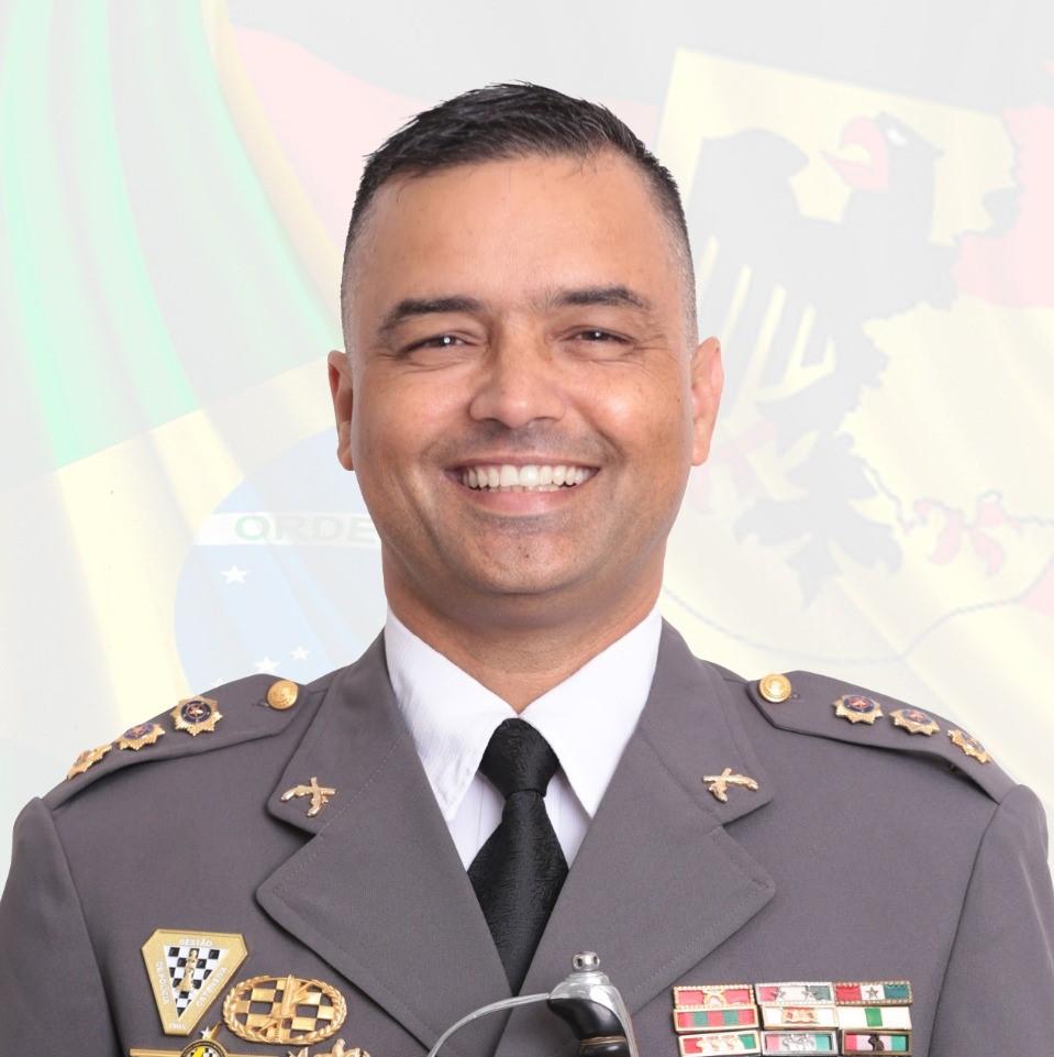 Coronel PM Jefferson Schmidt (Foto: Divulgação)