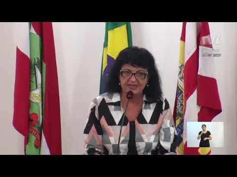 """Salete Sbardelatti(Representante A-Conseg Blu) fala do projeto """"Diga Não à Violência-Promova a Paz"""""""