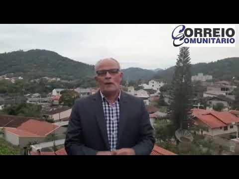 Walter Salvador, liderança comunitária e política, deixa sua mensagem sobre o Portal de Notícias Correio Comunitário.