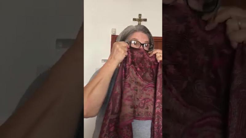 O frio chegando e uma alternativa para uso de lenços como máscaras