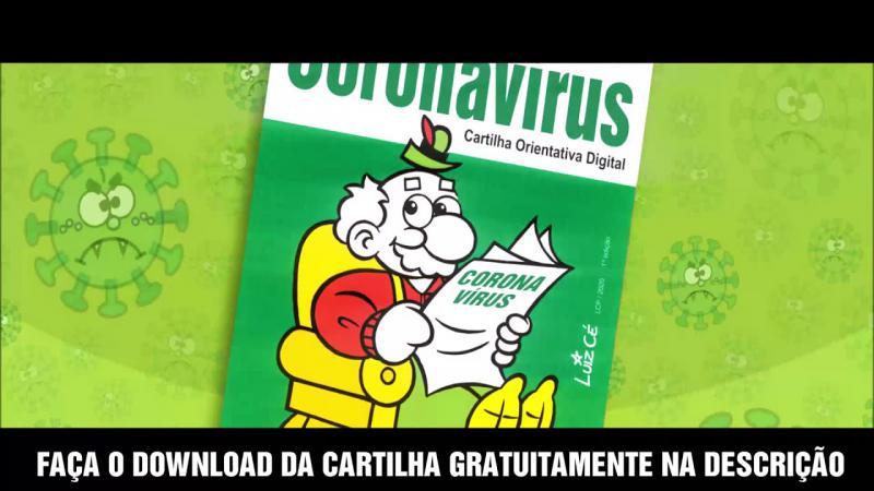 Cartilha Orientativa Digital sobre Coronavírus (covid-19) do Vovô Chopão