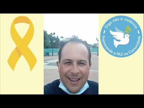 Valdir Souza homenageia todos do Movimento Maio Amarelo e idealizadores do Projeto Diga Não à Violência -Promova a Paz.
